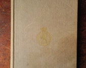 1955 First Edition Grey Vintage Book 'Love From A Convict' Veronica Henriques