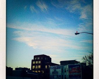 big sky brooklyn 5x5 photographic print