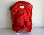 SALE - Vintage Bright Red Gerry Nylon Hiking / Camping Backpack