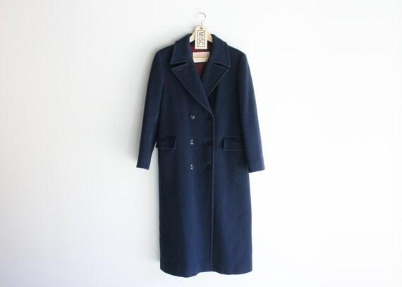 Vintage Pendleton Navy Wool Pea Coat