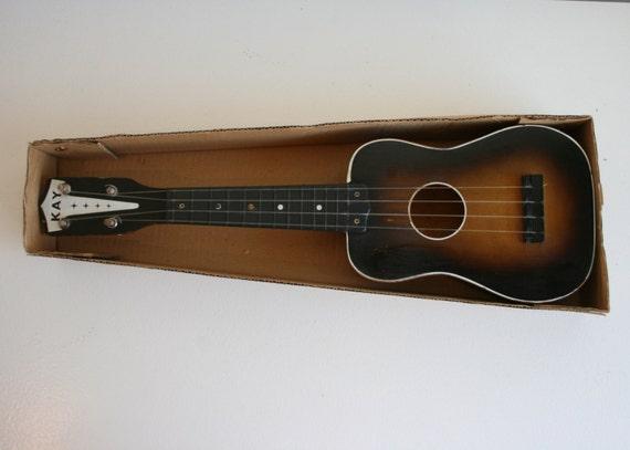 Vintage Kay Sunburst Soprano Ukulele