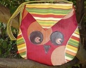 PDF Sewing Instructions or Pattern for Owl Bag