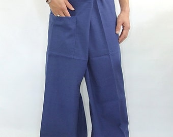 100% cotton thai fishermanpants handmade by my mum long legs style 003