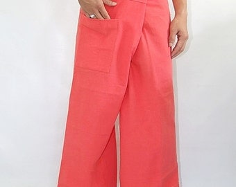 100% cotton thai fishermanpants handmade by my mum long legs style 019