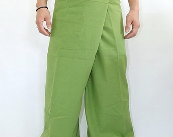 100% cotton thai fishermanpants handmade by my mum long legs style 013