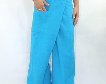 100% cotton thai fishermanpants handmade by my mum long legs style 006