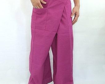 100% cotton thai fishermanpants handmade by my mum long legs style 010