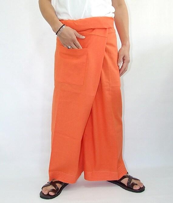100% cotton thai fishermanpants handmade by my mum long legs style 018
