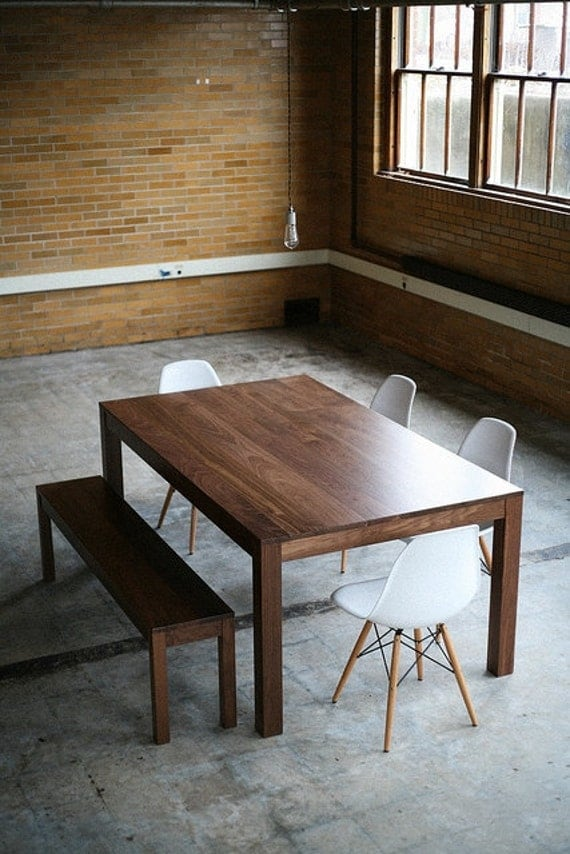 Duffy Dining Table - Solid Walnut