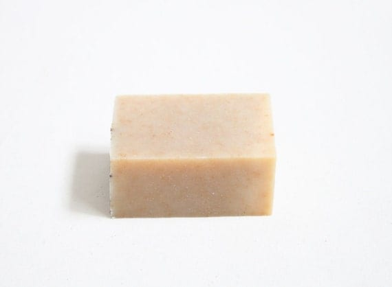 Oatmeal Honey Soap with organic herbal tea,  All Natural & Unscented