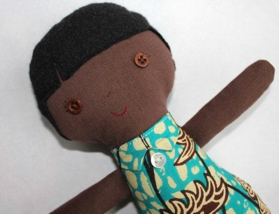 Cute boy doll