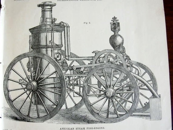 Items Similar To Fire Engines Victorian 5 Technical