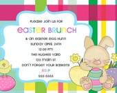 Easter brunch & egg hunt invite...DIY you print custom photo card by delightfulprints