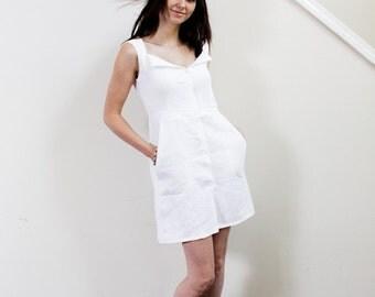Chloe Linen Dress