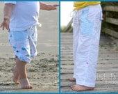 Pier 49 Convertible Pants: Girls Pants Pattern, Boys Pants Pattern, Baby and Toddler Pants Pattern, Shorts Pattern