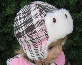 Aviator Cap: Winter Hat PDF Pattern, Aviator Hat PDF Patter, Baby, Toddler, Child