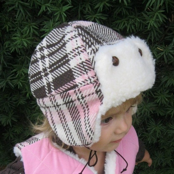 Aviator Cap: Winter Hat PDF Pattern, Aviator Hat PDF Patter, Baby, Toddler, Child