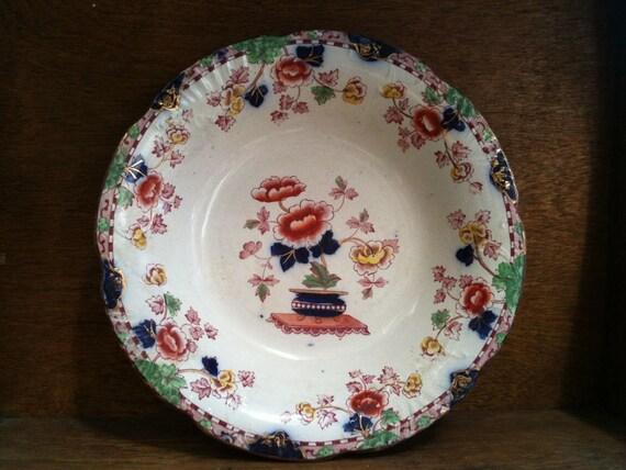 Vintage English PEKIN plate / serving dish - Chinese influenced