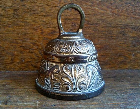 Vintage English Animal Themed Bell