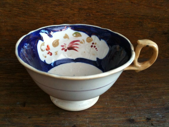 Vintage English ceramic tea coffee cup circa 1920's / English Shop