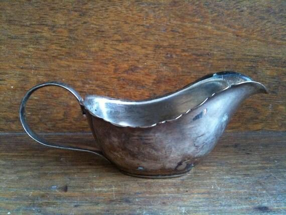 Vintage English Silver Creamer, Sheffield