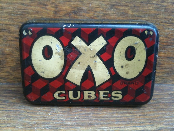 Vintage English OXO Tin Box
