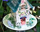 Garden Stake Fairy Cottage