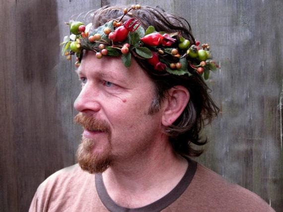 Head Wreath Greek Greek God Crown Guys Head