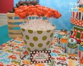 24 Choo Choo Train White Chocolate Lollipops