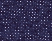 1 Yard - Essential Dots in Liberty Blue by Moda