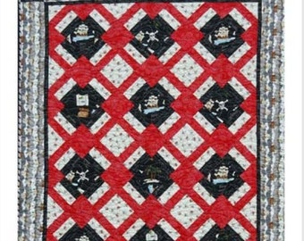 Forgotten Treasure Quilt Pattern by Uncle Paul's Company