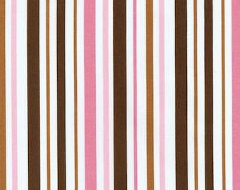 Robert Kaufman Pimatex Pink Cocoa Stripe