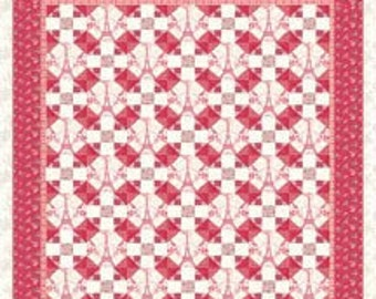 Paris Album Quilt Pattern by Late Bloomer Quilts