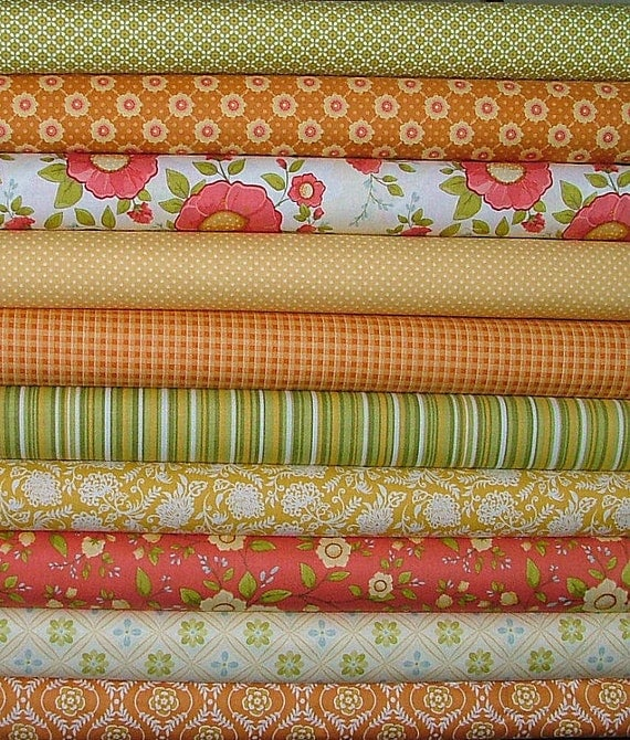 """LAST ONE 5"""" square bundle of Selected Daydream & Decadence Fabrics"""