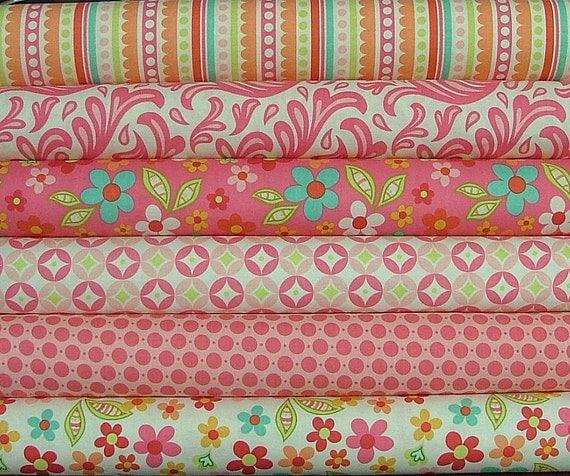 Half Yard Bundle of Sweet Nothings by Zoe Pearn Designs for Riley Blake