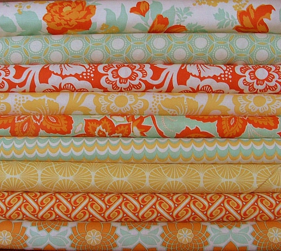 "LAST ONE 8"" Bundle of  Joel Dewberry Heirloom Fabrics"