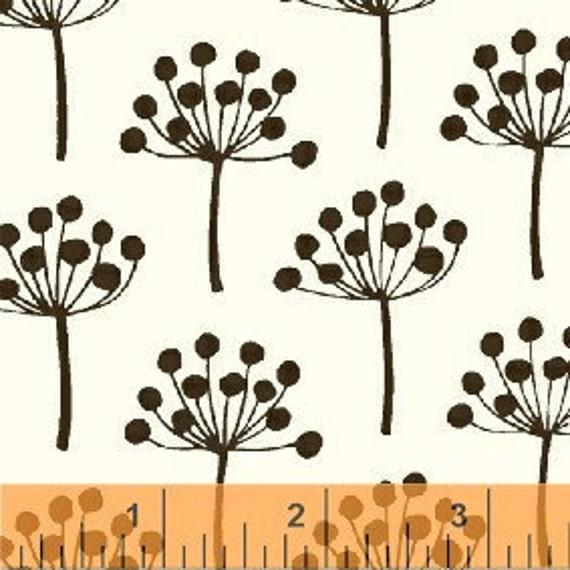 LAST PIECE Echo Little Florine Urban Fabric by Lotta Jansdotter for Windham Fabrics