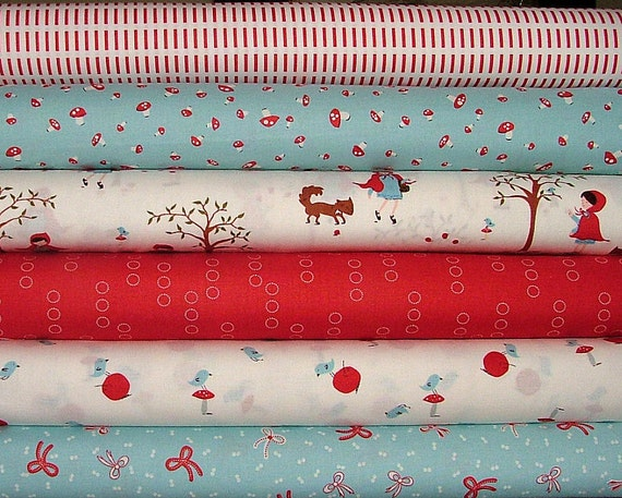 A Walk in the Woods Half Yard Bundle by Aneela Hoey for Moda