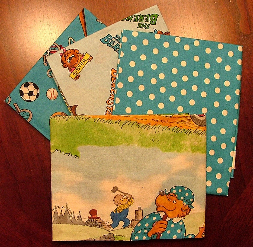 Fat Quarter Bundle Of The Berenstain Bears Welcome To Bear