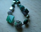 2piece Teal Waters Limited Edition Necklace set