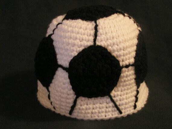 Children's soccer ball hat