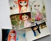 Blythe sticker pack - Set of 5