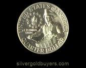 1976-S Washington Proof Silver Quarter in capsule