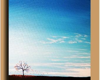 Autumn Tree Painting Original painting Skye Taylor