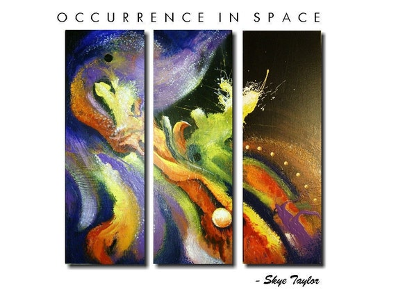 Abstract.- Occurrence in Space -36 x 36 - Skye Taylor
