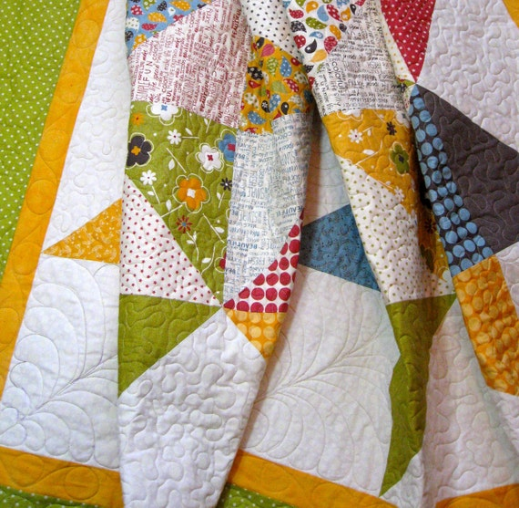 Queen Bed Quilt -  Perfect for College or  Wedding Gift