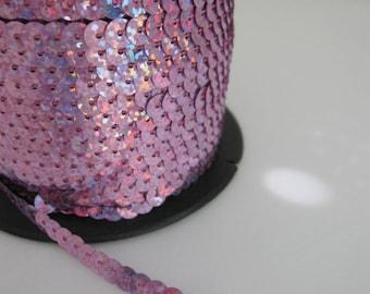 5 Yards Shimmering Lavender Sequin Trim - 14