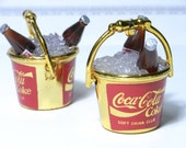 Coca Cola gold Ice Buckets