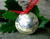 Christmas tree ornamant- 2011-peace on earth dove