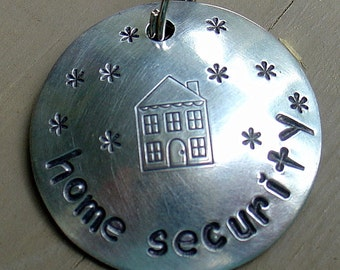Home Security- pet collar charm